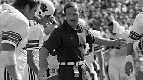 Don Coryell, Coach: NO