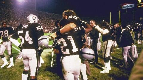 3. Super Bowl XVIII: Los Angeles Raiders (+3) over Washington Redskins, 38-9