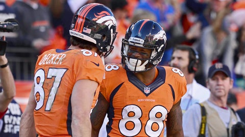 Denver's wide receivers