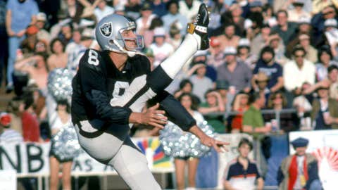 P: Ray Guy, Raiders