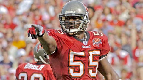 Derrick Brooks: LB, Buccaneers (1995-2008)