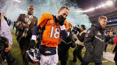 Peyton exits after the loss