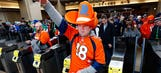 Feeding the 'Broncodonkey' is among weird Super Bowl superstitions