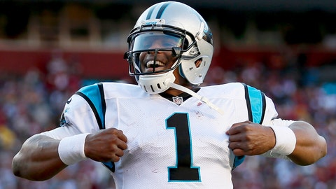 Cam Newton (first pick, 2011, Carolina Panthers)