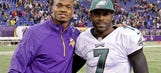 Is Adrian Peterson lobbying for Vikings to sign Michael Vick?