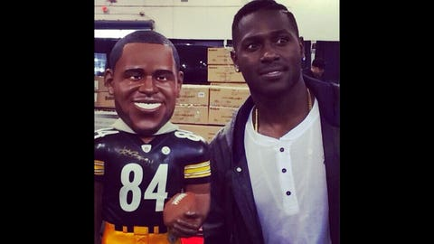 Wait, which one is Antonio Brown?