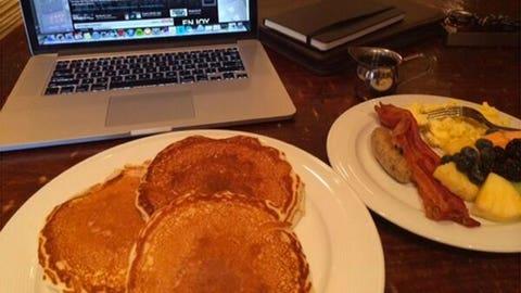 Malcolm Jenkins and his impressive breakfast
