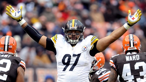 Cameron Heyward, LE, Steelers