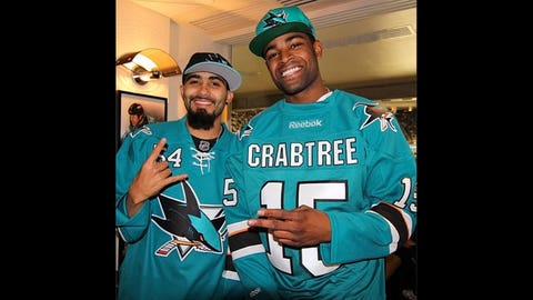 Michael Crabtree has Bay Area pride