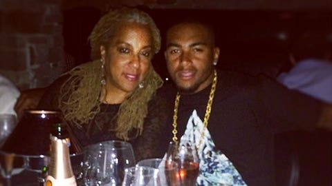 DeSean Jackson and one awesome lady