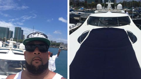Donald Penn celebrates another year in style.