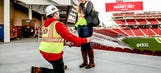 That's fast: Couple becomes first to propose at 49ers' new stadium