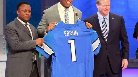 Detroit Lions: B-