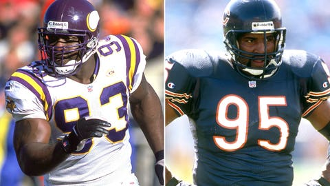 7. John Randle and Richard Dent: 137.5
