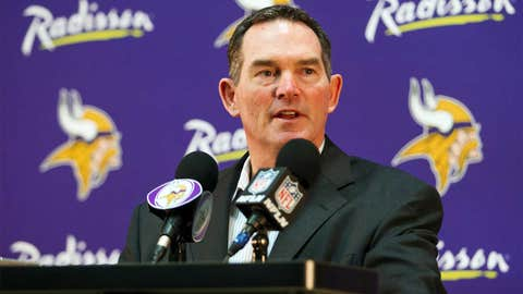Mike Zimmer named head coach of Vikings, his first head coaching job
