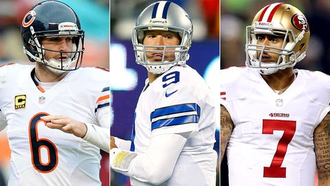 NFL quarterbacks pulling in the big bucks