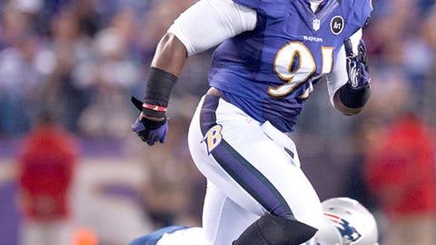Baltimore: Outside linebacker Courtney Upshaw