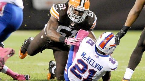 Cleveland: Outside linebacker Barkevious Mingo