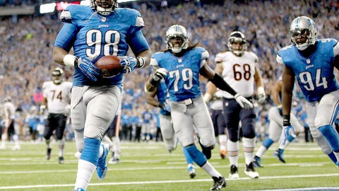 Detroit: Defensive tackle Nick Fairley