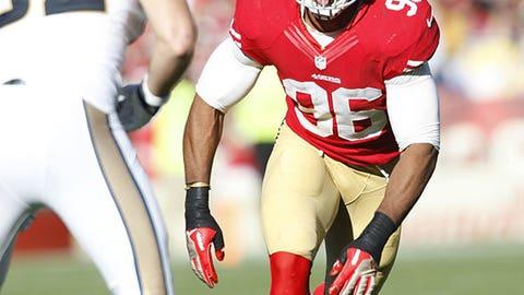 San Francisco: Outside linebacker Corey Lemonier