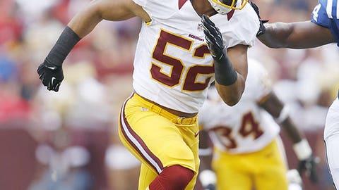 Washington: Inside linebacker Keenan Robinson