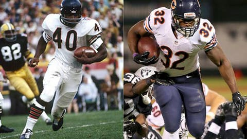 Chicago Bears uniforms