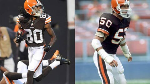 Cleveland Browns uniforms