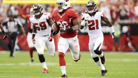 Andre Ellington: RB, Cardinals
