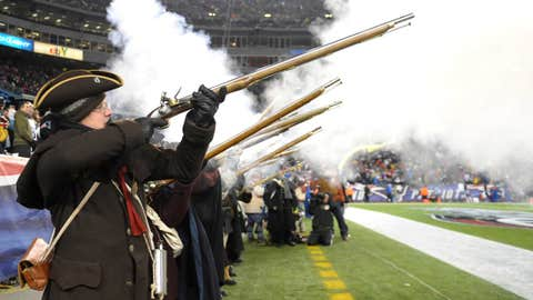 Patriots muskets
