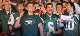 Jets fans pay to fly plane with 'cheaters look up' banner over Patriots camp