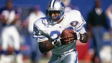 NFL: Barry Sanders, Detroit Lions, 1997*