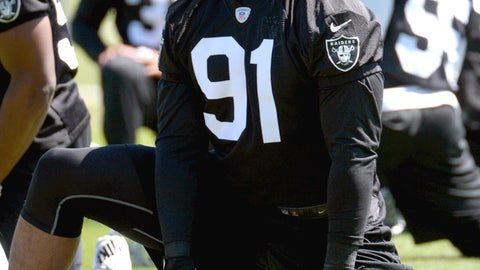 Justin Tuck, DE, Raiders