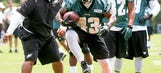 Darren Sproles got reps at WR during spring practices