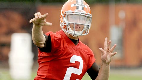 Cleveland: How soon until Johnny Manziel becomes the starting quarterback?