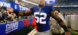 Giants LB Beason aiming for preseason reps but won't risk setback