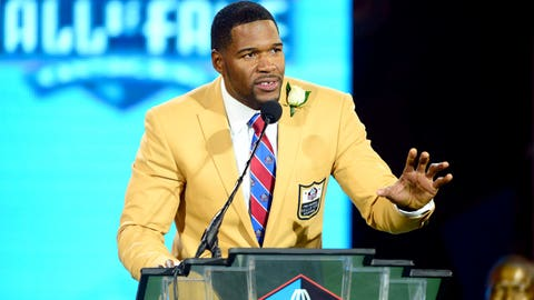 Michael Strahan, Defensive End