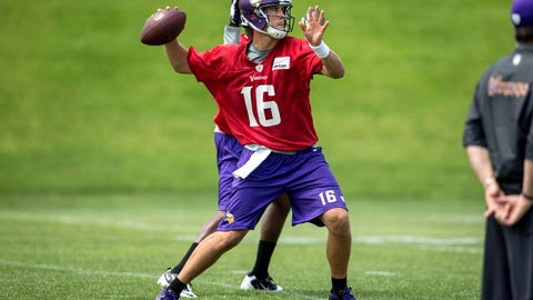 Matt Cassel, QB, Vikings