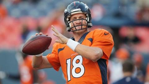 Peyton Manning, QB, Broncos