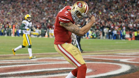 49ers QB Colin Kaepernick, $19 million