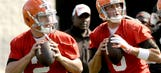 Browns name Hoyer over Manziel as Week 1 starting QB against Steelers