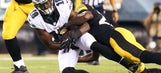 Eagles exit unscathed after brief injury scares to McCoy, Maclin