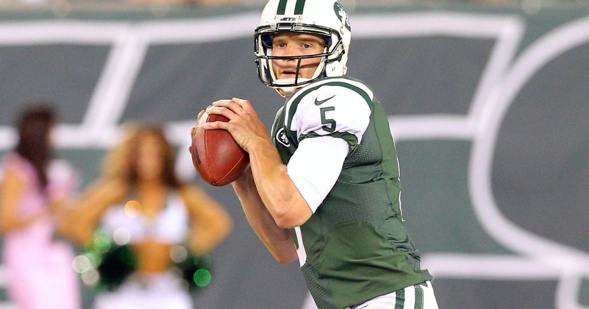 Jets Release Backup Matt Simms After Adding Qbs In