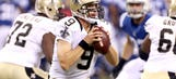 Brees returns strong, keeps Saints unbeaten with win over Colts