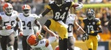 Antonio Brown goes all 'Street Fighter' on poor Browns punter