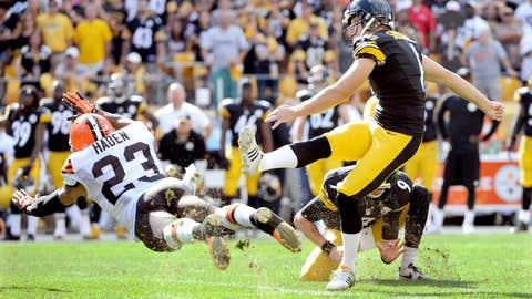 Steelers 30, Browns 27