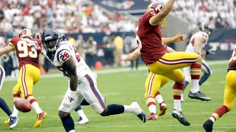Texans 17, Redskins 6