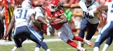 Chiefs' Charles goes MIA in opening loss to Titans