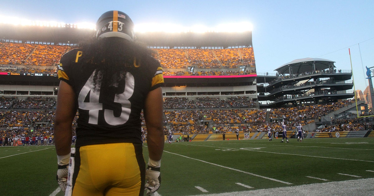 20d7ee12ac6 Troy Polamalu s retirement marks end of an era for Steelers