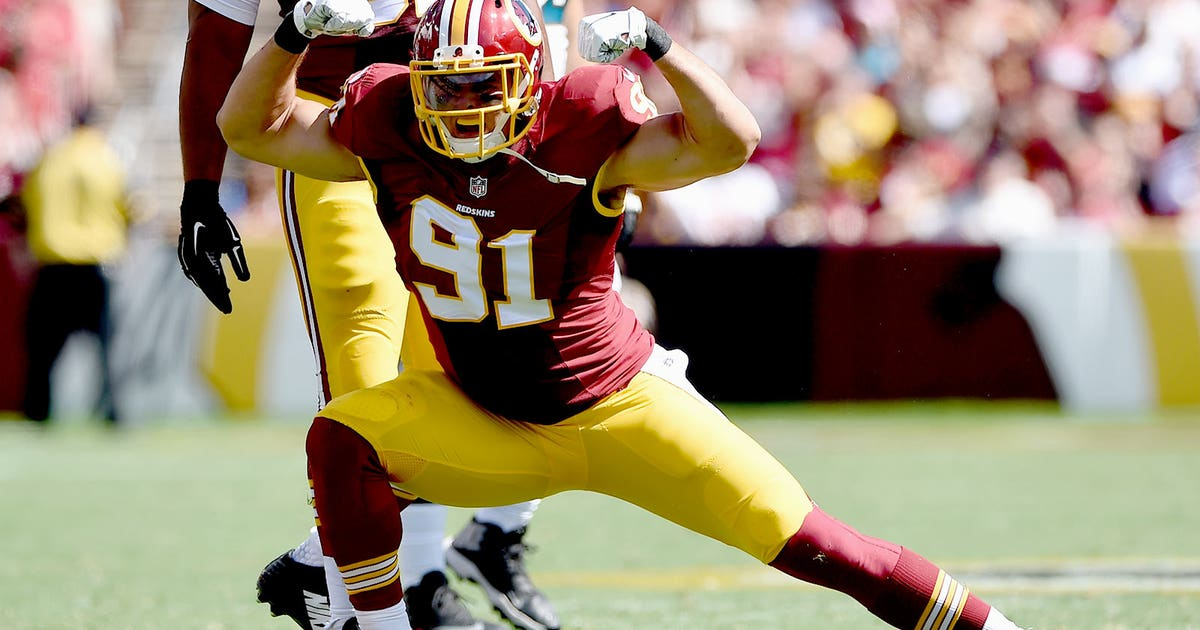 20556420ab5 Report  Redskins OLB Ryan Kerrigan undergoes knee surgery