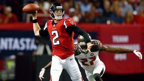 Buccaneers (+3) vs. FALCONS [Over/under: 47.5]